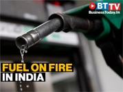 Fuel prices on fire in India as petrol costs over Rs 100 per litre in many cities