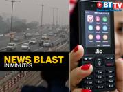 Lok Sabha demands action on pollution, Jio to hike tariff