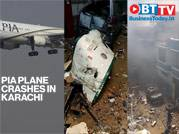 PIA plane crashes in residential area in Karachi, Pakistan