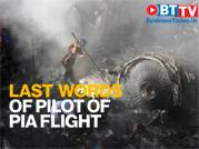 'We have lost engine,' said pilot of PIA plane just before the crash
