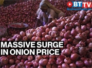 Massive surge in onion price as heavy rains damage crops
