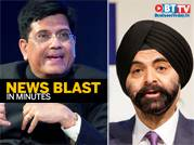 Goyal on India-US trade; Mastercard CEO to step down
