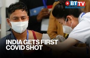 India's first vaccine shot administered to sanitation worker at AIIMS
