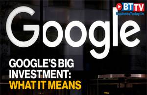 Google to invest Rs $10 bn in India's digitisation fund
