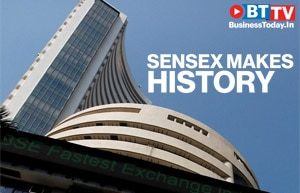 Sensex touches historic high as RBI keeps repo rate unchanged