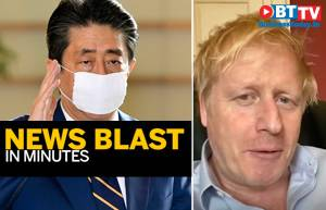 PM Abe announces emergency; UK PM's health worsens