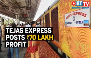Lucknow-Delhi Tejas Express posts Rs 70 lakh profit in first month