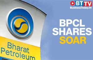 Cheering govt's stake sale plan, BPCL shares jump to touch intraday high