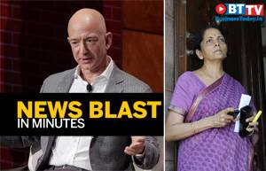 Bezos says Amazon doing well in India, FM on India's growth