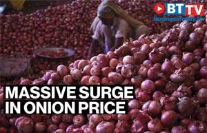 Massive surge in onion price as heavy rains damage crops