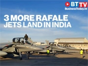 Fourth batch of 3 Rafale jets lands in India, total count now at 14