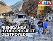 Rishi Ganga Hydro project damaged, many labourers still trapped in tunnels