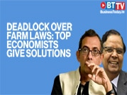 Top economists Abhijit Banerjee and Arvind Panagariya face off over farm laws