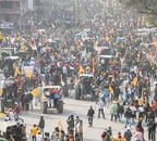 Tractor rally violence: 86 policemen injured, 15 cases filed, says police