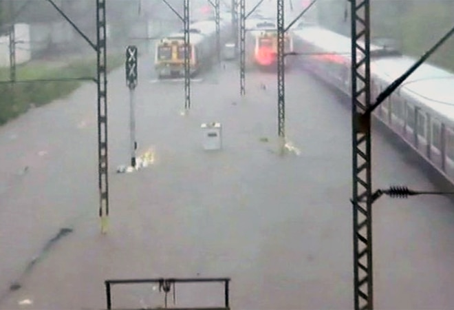 Mumbai rains: Transport services disrupted, waterlogging reported after downpour