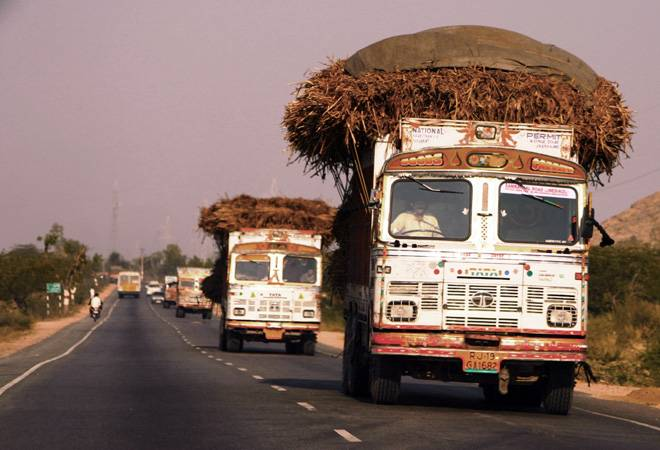 Truckers strike over GST and fuel prices to hit goods transport ahead of Diwali