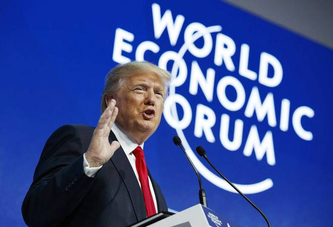 Donald Trump says 'America first does not mean America alone' at WEF 2018