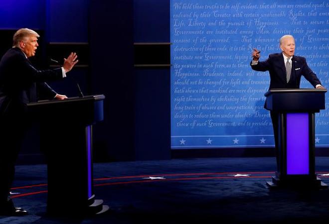 'Look at India, the air is filthy!' says Donald Trump at presidential debate with Joe Biden