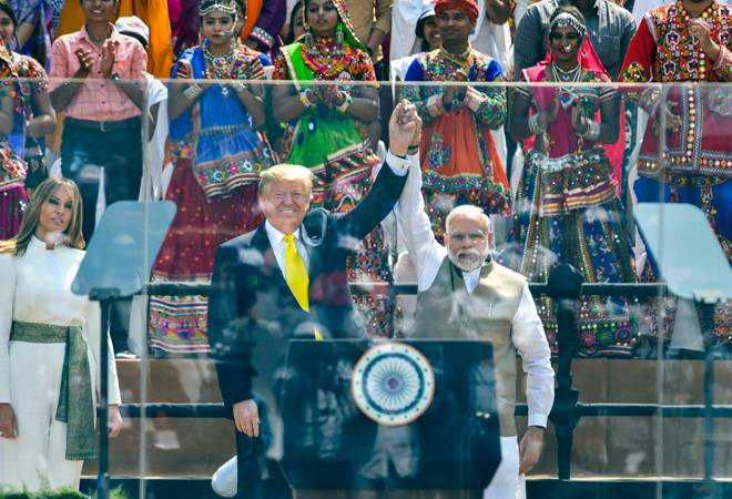 Namaste Trump event: Highlights from US President's speech at Motera Stadium
