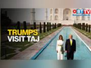 Trumps visit Taj Mahal, find it awe-inspiring