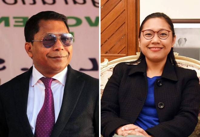 Lok Sabha Election result 2019: Agatha Sangma ahead in race from Tura in Meghalaya; Mukul Sangma trails