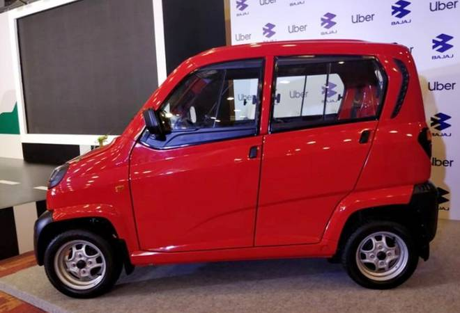 Uber to use miniature car 'Qute' to take on India's choked, polluted roads