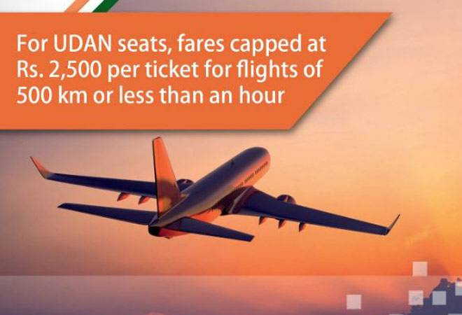 PM Modi's UDAN project takes off; one-hour flights capped at Rs 2,500