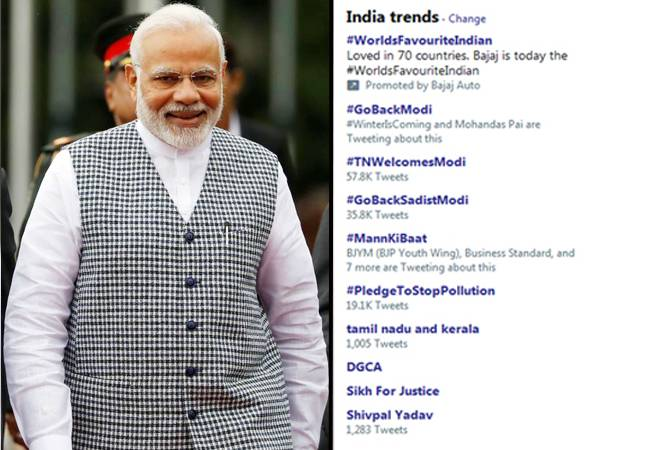 PM Modi amid a Twitter war as he visits Tamil Nadu to lay foundation for AIIMS