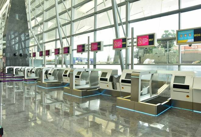 First in India! Bangalore airport deploys automated bag drop machines; to make check-in a 60-second process