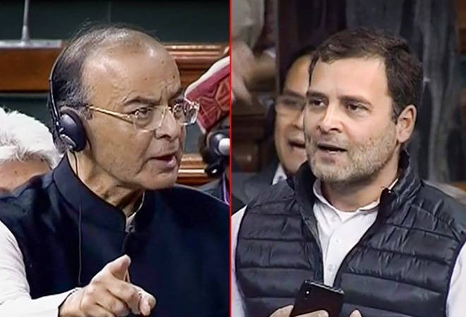 Arun Jaitley calls Rahul Gandhi grandson of 'Emergency dictator' for 'intimidating' journalist