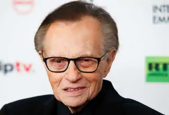 Talk show host Larry King hospitalised with COVID-19