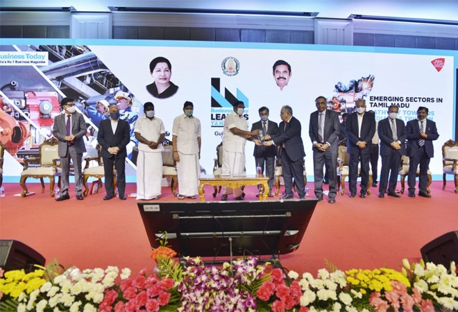 Business Today honours business leaders of Tamil Nadu