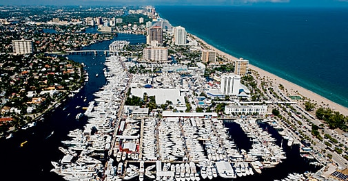 Fort Lauderdale International Boat Show, Florida, USA