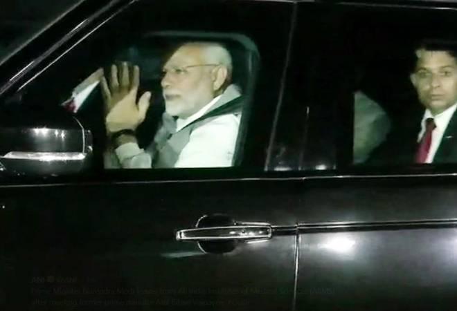 Atal Bihari Vajpayee in AIIMS: PM Modi, Smriti Irani visit hospital