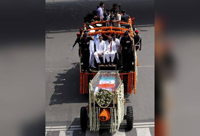 Several roads in Central Delhi off bounds for Atal Bihari Vajpayee's funeral