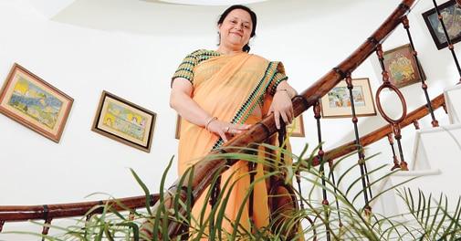 Vinita Singhania, Managing Director, Jk Lakshmi Cement