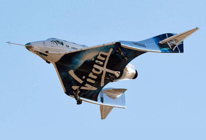 Virgin Galactic becomes first US commercial human flight to reach Earth's atmosphere since 2011