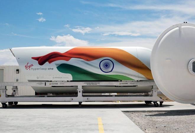 Who is Raja Narayanan, the new CFO of Virgin Hyperloop