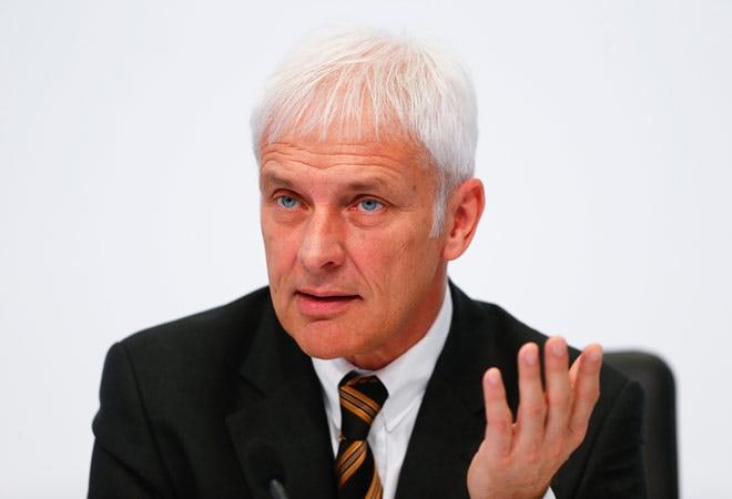 CEO of Porsche Matthias Mueller