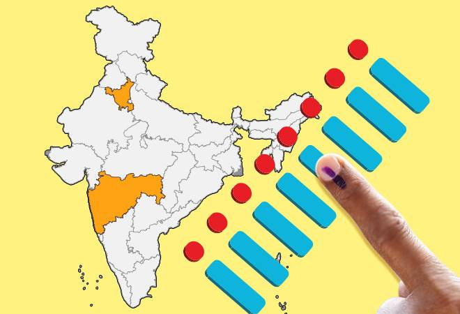 Maharashtra, Haryana Elections Live Updates: 44.80% voter turnout recorded in both states till 4 pm