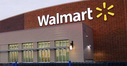 Walmart is another company that offers postage stamps online