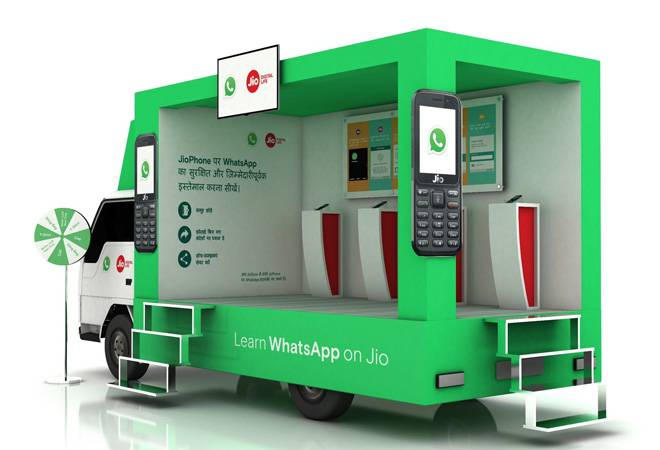 WhatsApp and Jio are visiting Indian cities in a van to spread awareness