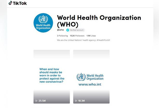 The World Health Organization is now fighting coronavirus misinformation on TikTok