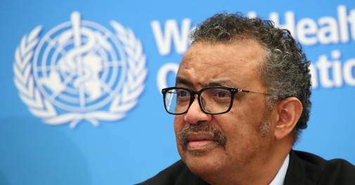 Coronavirus pandemic 'not even close' to being over : WHO chief Tedros