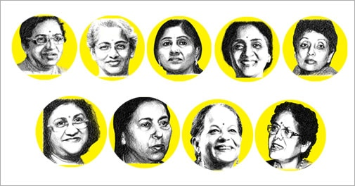 Women leaders who have made it to the corner office