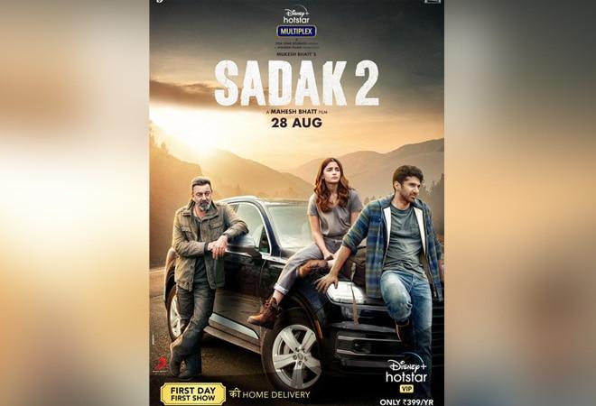 More thumbs down for Sanjay Dutt, Alia Bhatt's 'Sadak 2' than thumbs up