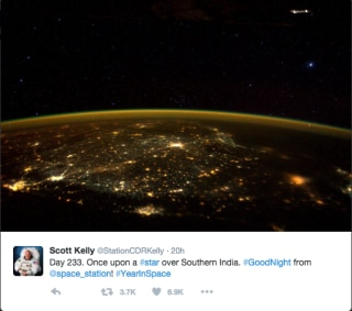 OMG! NASA Released the REAL Image of India Post Diwali