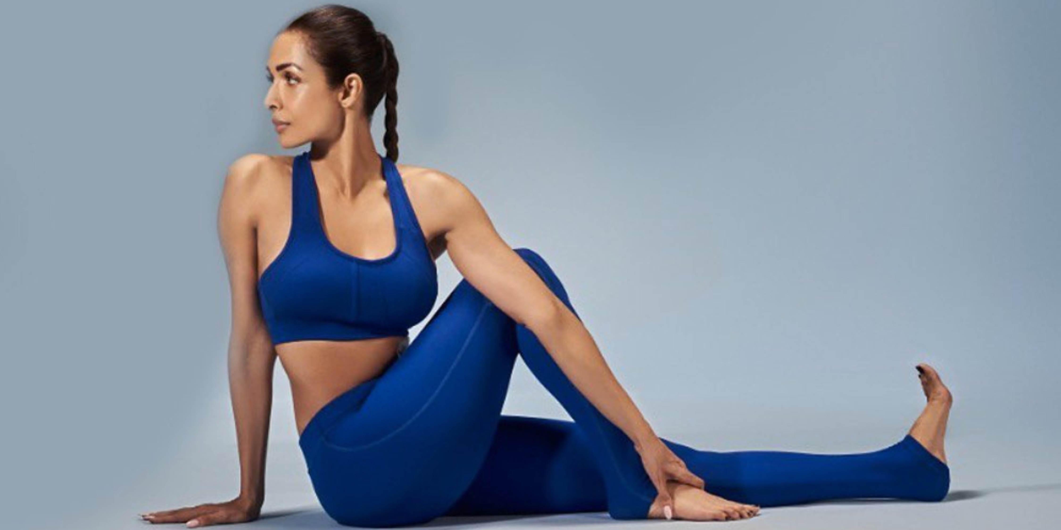 Follow Malaika Arora S Full Body Yoga Workout To Get Into Shape At Home Life Cosmopolitan India