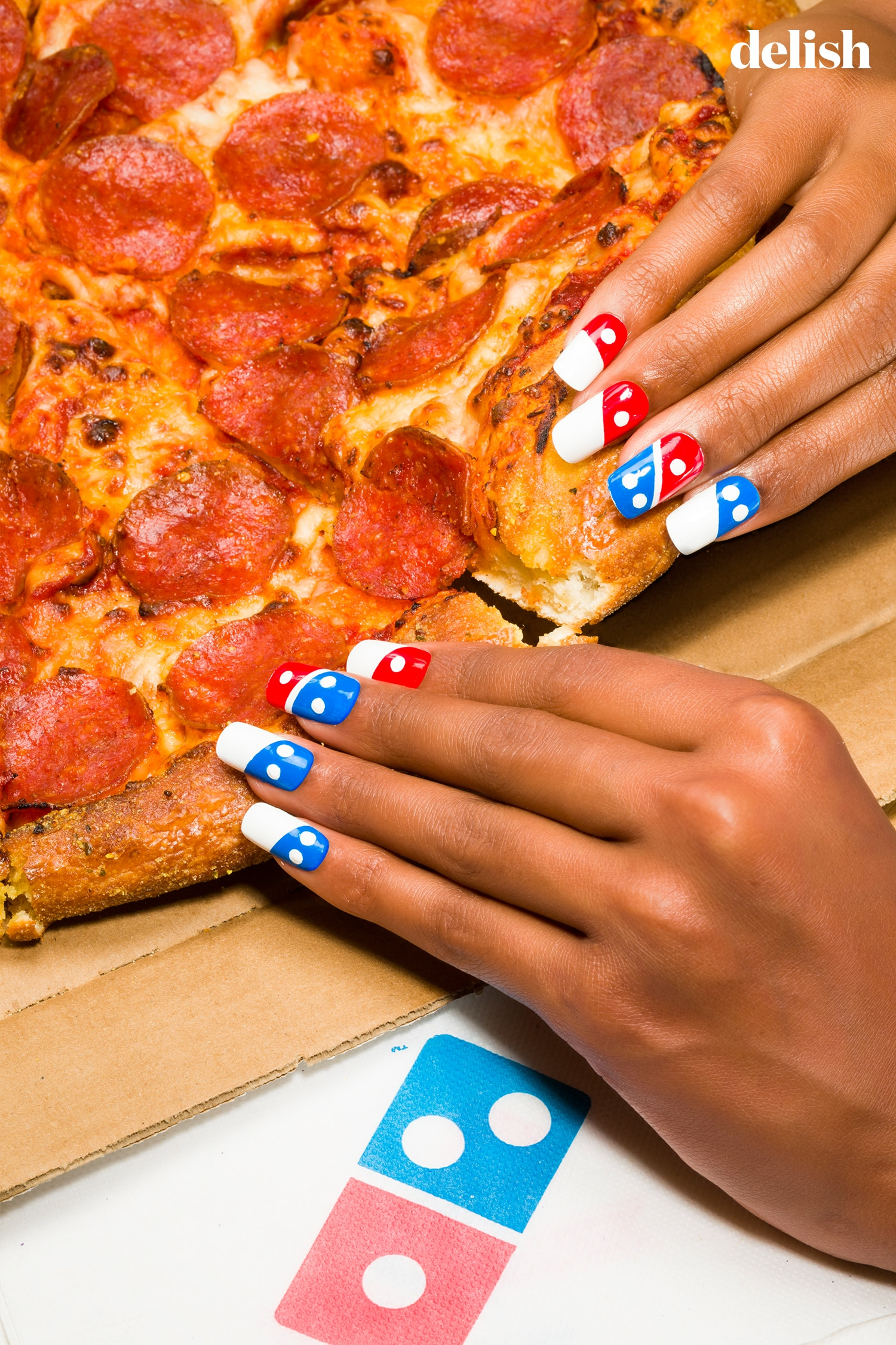 6 Unbelievable Nail Art Designs That Make Fast Food Look Chic