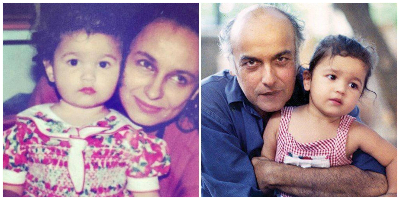 Image result for alia bhatt childhood photos